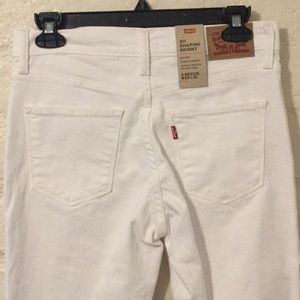 Levi's Jeans - Levi's 311 White Shaping Skinny Jeans